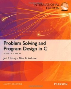 Problem Solving and Program Design in C, 7/e (Paperback)-cover