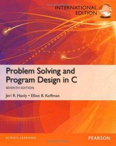 Problem Solving and Program Design in C, 7/e (Paperback)