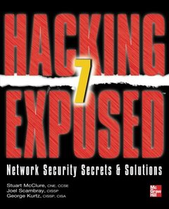 Hacking Exposed 7: Network Security Secrets & Solutions, 7/e (Paperback)-cover