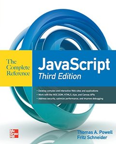JavaScript The Complete Reference, 3/e (Paperback)-cover