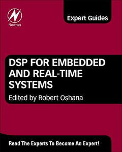 DSP for Embedded and Real-Time Systems (Hardcover)-cover