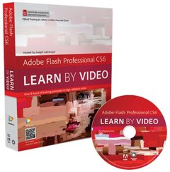 Adobe Flash Professional CS6: Learn by Video: Core Training in Rich Media Communication (DVD-ROM)-cover