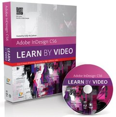 Adobe InDesign CS6: Learn by Video (DVD-ROM)-cover