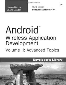 Android Wireless Application Development Volume II: Advanced Topics, 3/e (Paperback)-cover