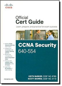 CCNA Security 640-554 Official Cert Guide (Hardcover)-cover