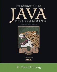 Introduction to Java Programming, Comprehensive Version, 9/e (美國原版-Paperback)-cover