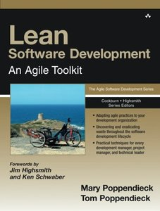 Lean Software Development: An Agile Toolkit (Paperback)-cover