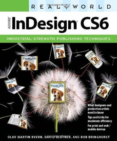 Real World Adobe InDesign CS6 (Paperback)-cover