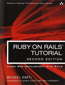 Ruby on Rails Tutorial, 2/e(Paperback)-cover