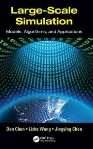 Large-Scale Simulation: Models, Algorithms, and Applications (Hardcover)-cover