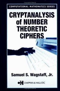 Cryptanalysis of Number Theoretic Ciphers (Hardcover)-cover