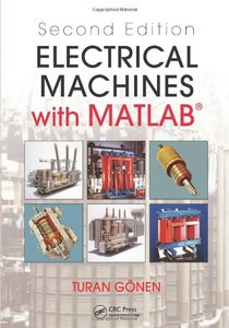 Electrical Machines with MATLAB, 2/e (Hardcover)-cover