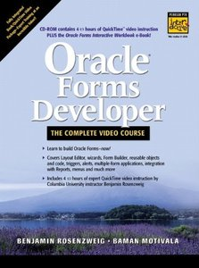 Oracle Forms Developer -- The Complete Video Course