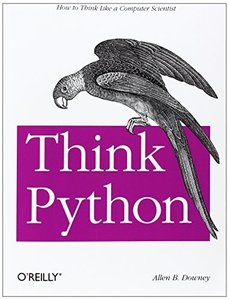 Think Python (Paperback)-cover