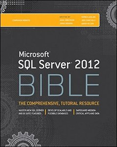 Microsoft SQL Server 2012 Bible (Paperback)-cover