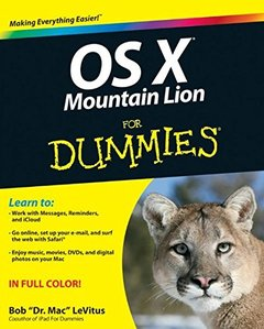 OS X Mountain Lion For Dummies (Paperback)-cover