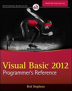 Visual Basic 2012 Programmer's Reference (Paperback)-cover