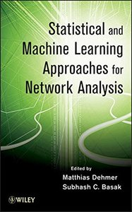 Statistical and Machine Learning Approaches for Network Analysis (Hardcover)-cover
