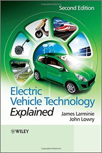 Electric Vehicle Technology Explained, 2/e (Hardcover)-cover