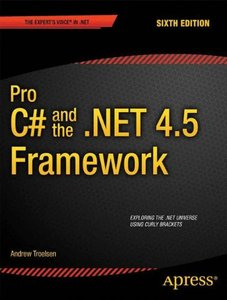 Pro C# 5.0 and the .NET 4.5 Framework, 6/e (Paperback)-cover