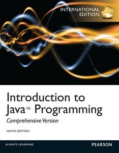 Introduction to Java Programming : Comprehensive Version, 9/e (IE-Paperback)-cover