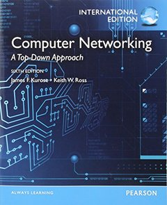 Computer Networking: A Top-Down Approach, 6/e (IE-Paperback)-cover