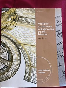 Probability and Statistics for Engineering and the Sciences, 8/e (IE-Paperback)-cover