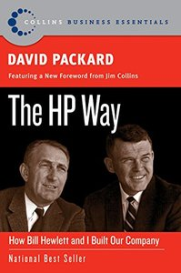 The HP Way: How Bill Hewlett and I Built Our Company (Paperback)-cover