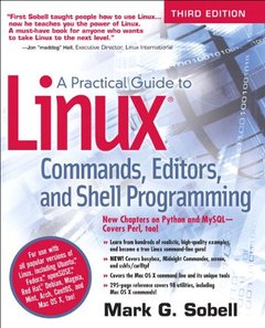 A Practical Guide to Linux Commands, Editors, and Shell Programming, 3/e (Paperback)-cover