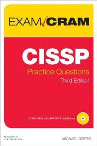 CISSP Practice Questions Exam Cram, 3/e (Paperback)-cover