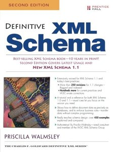 Definitive XML Schema, 2/e (Paperback)-cover