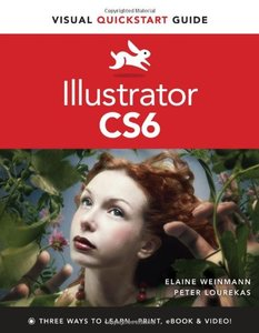 Illustrator CS6: Visual QuickStart Guide (Paperback)-cover