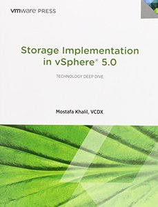 Storage Implementation in vSphere 5.0 (Paperback)-cover