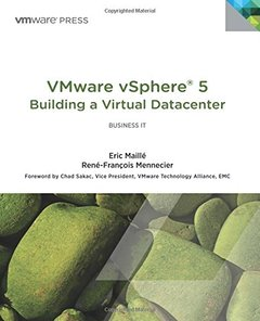 VMware vSphere 5 Building a Virtual Datacenter (Paperback)-cover