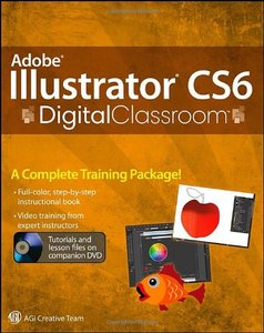 Adobe Illustrator CS6 Digital Classroom (Paperback)-cover