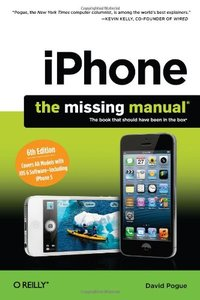 iPhone: The Missing Manual, 6/e (Paperback)-cover