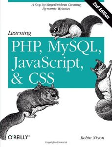 Learning PHP, MySQL, JavaScript, and CSS: A Step-by-Step Guide to Creating Dynamic Websites, 2/e (Paperback)-cover