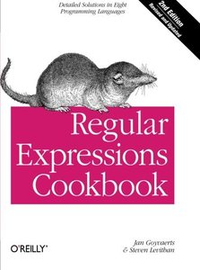 Regular Expressions Cookbook, 2/e (Paperback)