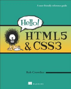 Hello! HTML5 & CSS3: A user-friendly reference guide (Paperback)-cover