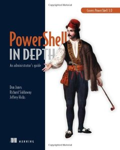 PowerShell in Depth: An administrator's guide (Paperback)-cover