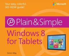 Windows 8 for Tablets Plain & Simple (Paperback)-cover