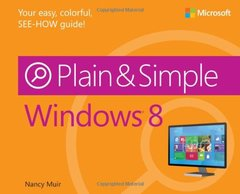 Windows 8 Plain & Simple (Paperback)-cover