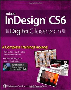Adobe InDesign CS6 Digital Classroom (Paperback)-cover