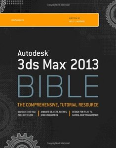 Autodesk 3ds Max 2013 Bible (Paperback)-cover