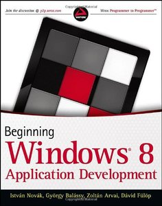 Beginning Windows 8 Application Development (Paperback)-cover