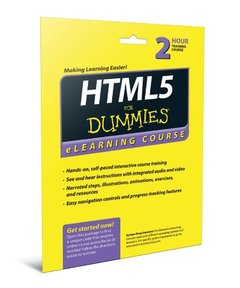 HTML5 For Dummies eLearning Course Access Code Card (Paperback)