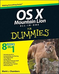 OS X Mountain Lion All-in-One For Dummies (Paperback)-cover