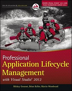Professional Application Lifecycle Management with Visual Studio 2012 (Paperback)-cover