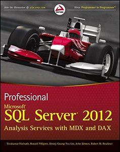 Professional Microsoft SQL Server 2012 Analysis Services with MDX and DAX (Paperback)-cover