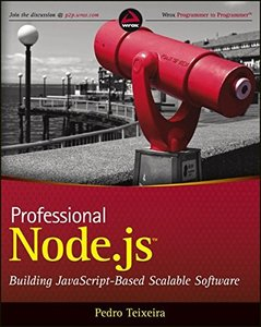 Professional Node.js: Building Javascript Based Scalable Software (Paperback)-cover